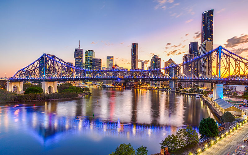 Insight has local presence in Brisbane and Queensland.