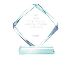 Cisco U.S. Architectural Excellence: Enterprise Networking award
