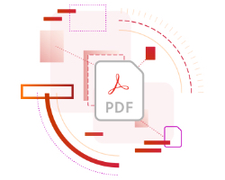 Adobe Acrobat DC create icon graphic