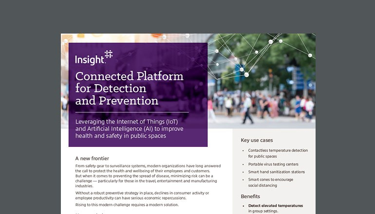 Insight Connected Platform for Detection and Prevention asset cover