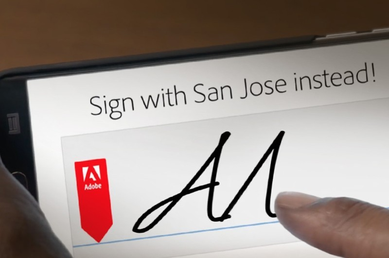 Adobe Sign makes the signature process run faster.