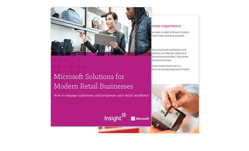 Microsoft Solutions for Modern Retail Businesses cover