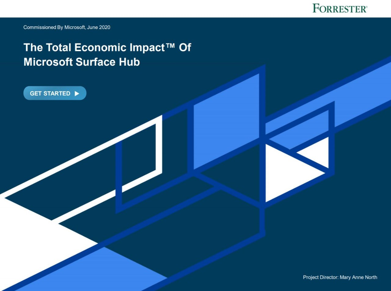 Forrester study Microsoft technologies for education study